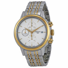 New Tissot Carson Automatic White Dial Two-Tone Steel Mens Watch T0854272201100