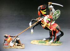 """king &country MK051 54mm crusades """"fight to the death"""" 1mtd 1 foot 2009 MIB oop"""