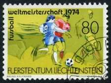 Liechtenstein 1974 SG#593 World Cup Football Cto Used #D59398