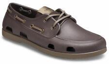 crocs Halbschuh Classic Boat Shoe Men Espresso / Walnut Croslite Normal Herren