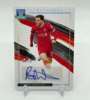2020-21 Panini Impeccable Soccer ANDY ROBERTSON #/10 Auto Liverpool