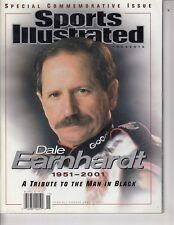2001 Dale Earnhardt Nascar Sports Illustrated Commemorative Tribute  No Label