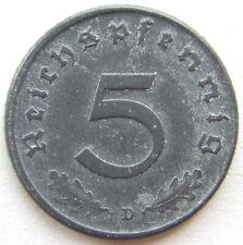 TOP! 5 Pf 1947 D in BANKFRISCH / STEMPELGLANZ !!!