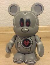 """DISNEY VINYLMATION 3"""" URBAN SERIES 4 TIN MICKEY MOUSE ROBOT 2010 COLLECTIBLE TOY"""