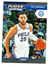 2017-18 Panini PLAYER OF THE DAY #24 BEN SIMMONS Philadelphia 76ers