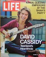 LIFE MAG Oct 29, 1971,  David Cassidy,  black militants