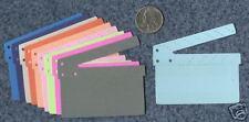 MOVIE CLAPPER die cuts scrapbook cards