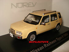NOREV  NISSAN RASHEEN TYPE II YELLOW CREME 1994 au 1/43°