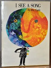 1ST/1ST NR FINE EDITION W. ORIGINAL JACKET, 1973~ERIC CARLE~ I SEE A SONG