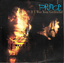 "PRINCE If I Was Your Girlfriend PICTURE SLEEVE 7"" 45 rpm record NEW RARE!"