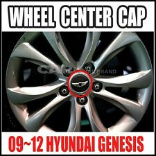 Hyundai Genesis  09-13  17Inch Wheel Center  Wing Cap Emblem  OEM 52960-3M000