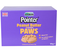 POINTER PEANUT BUTTER PAWS - Fold Hill Dog Biscuits Canine Food Treats bp Reward