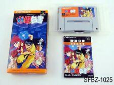 Complete Yu Yu Hakusho 1 Super Famicom Japanese Import Yuu SFC Japan US Seller B