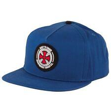 Independent Trucks BTG PATCH Snapback Skateboard Hat ROYAL BLUE