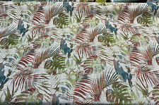 Swavelle Dain Tree Branches Multi Color Chenille Upholstery Fabric By the yard