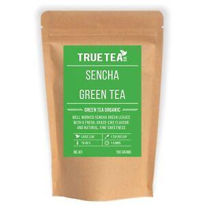Sencha Green Tea Organic (No.101) - Whole Leaf Japanese Green Tea - True Tea Co.