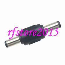 2pcs Adapter Connector DC Power 5.5x2.1mm male to 5.5x2.1mm male for laptop