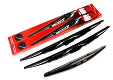 Renault Clio MK2 Front & Rear Windscreen Window Wiper Blades (TV53/45-RB12)
