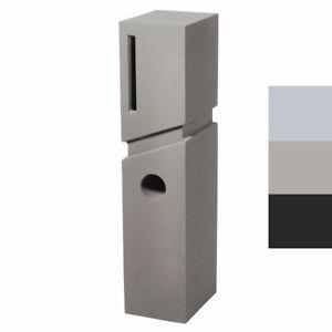 FACTORY DIRECT - SPA LETTERBOX Pillar Modern Mailbox PIER   3 Colours Avail
