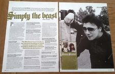 IRON MAIDEN: PAUL DIANNO 'simply the beast' 2 page UK ARTICLE / clipping