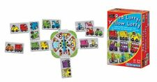 Red Lorry Yellow Lorry Educational Board Game Cars Bikes Cards Colours Shapes 4+