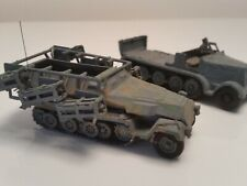 Vintage Airfix type made model SdKfz 251 rocket launcher - WWII 1:72