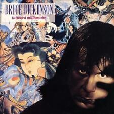 BRUCE DICKINSON (IRON MAIDEN) TATTOOED MILLIONAIRE [10/27] NEW VINYL RECORD