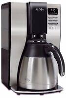 Mr. Coffee BVMC-PSTX91 10 Cups Coffee Maker - Black/Stainless Optimal Brew