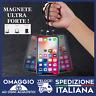 Cavo di Ricarica Magnetico + 3magneti per iPhone Android Micro usb Tipo C 🇮🇹