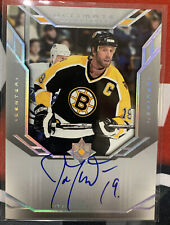 2004-05 UD Ultimate Collection Joe Thornton On Card Autograph Maple Leafs
