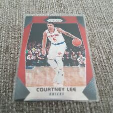 2017-18 Panini Prizm RUBY WAVE PRIZM REFRACTOR - Courtney Lee
