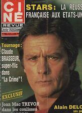 CINE REVUE 1983 n°14 delon claude brasseur joan mac trevor aznavour suzy solidor