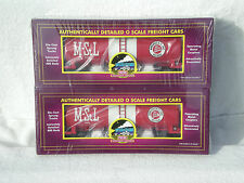 Sealed 2-Pack MTH Premier Minneapolis & St Louis Tank Car    NEW/MINT