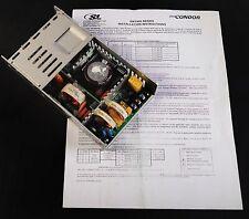 Condor GNT424AB 24 12 Volt 16.7 Amp 400 Watt DC Power Supply 100-240V 50/60Hz
