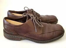 Born Nathaniel Casual Oxford Brown Mahogany Leather Lace Up US Size 9.5 H04335