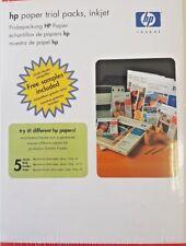 Probierpackung HP Imprimante Papier jet d'encre Premium Photo 15 feuilles divers taille