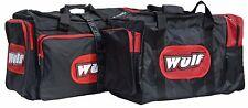 Wulfsport Motocross MX Enduro ATV Heavy Duty Kit Bag Luggage Medium Red T
