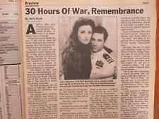 Nov 13-1988 St Louis Post TV Magaz(HART BOCHNER/JANE SEYMOUR/WAR AND REMEMBRANCE