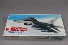 ZF677 Fujimi 1/72 maquette avion 2 7AE2-700 F-16A Plus Fighting Falcon Wolf Pack