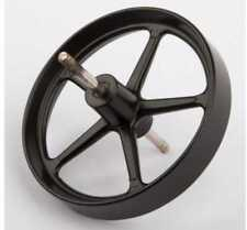 Wilesco 01683 Flywheel, 80 mm diameter, with axle for Steam Engine D 18