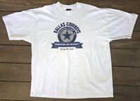 Vintage 1998 DALLAS COWBOYS Cowboys NFL 2XL T-Shirt Training Camp Shirt