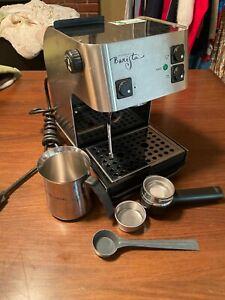 Original STARBUCKS BARISTA Stainless Espresso Machine SIN 006 Made in Italy