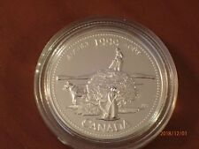 Canada  August 1999 Sterling 25 Cent in capsule