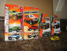 Matchbox Lot of 7 1985 Toyota 4 Runner Variation '85 Yellow Red Green White