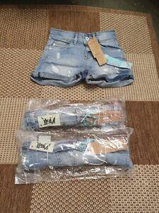 """Vingino Mädchen Shorts Jeans """"Dinona"""" Blau - UVP: 49,99€"""