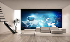 World Technology Wall Mural Photo Wallpaper GIANT DECOR Paper Poster Free Paste