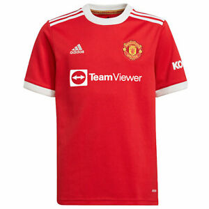 Manchester United Boys Shirt Home Kit 2021/22 OFFICIAL Football Gift