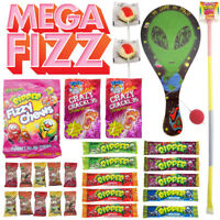Mega Fizz Assorted 2 Showbags Popping Candy Sherbet Fizzy Sweets Bulk Lollies