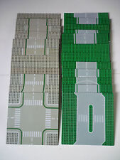 """Lot de 24 Plaques imprimées Lego """"route"""" ville / 32x32"""