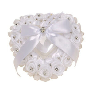 1pc Ring Pillow Romantic Exquisite Bridal Ring Case for Engagement Party